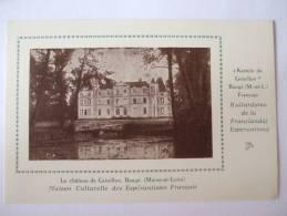 49 - LETH - BAUGE - LE CHATEAU DE GRESILLON -MAISON CULTURELLE DES ESPERANTISTES FRANCAIS - France
