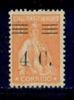 ! ! Portugal - 1928 Ceres W/OVP 4 C - Af. 451 - MH - 1910 - ... Repubblica