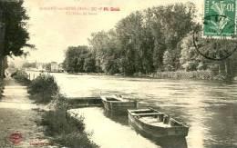 N°24562 -cpa Nogent Sur Seine -un Coin De Seine- - Nogent-sur-Seine