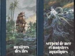 Mystères Des Iles-Légende Et Réalité Sur Le Triangle Des Bermudes-Serpent De Mer Et Monstres Aquatiques - Lots De Plusieurs Livres