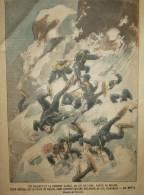 SAVOIE     FREJUS  AVALANCHE DU COL D ARRONDAZ  CHASSEURS ALPINS   REGIMENT DU 97 EME DE LIGNE DE MODANE - 1900 - 1949