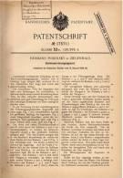 Original Patentschrift - H. Podolsky In Ziegenhals , 1904 , Konservierungsapparat Für Eier , Ei !!! - Eggs