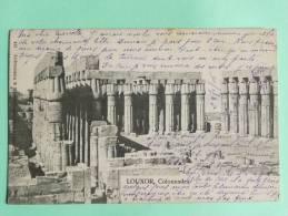 LOUXOR - Colonnades - Egypte