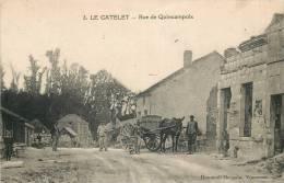 02 LE CATELET RUE DE QUINCAMPOIX - Autres Communes