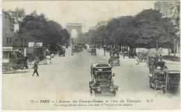 L´avenue Des Champs-elysées Et L´arc De Triomphe - District 08