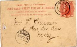 Telegram Londre Metz  Du 03 Mai 1895 - 1840-1901 (Victoria)