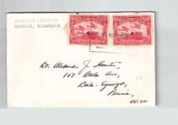 Nicaragua 1941 Overprint Vale 0.30 Stamps From American Legation Correo Aereo  Csa1684 - Nicaragua