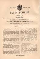 Original Patentschrift - Franz May In Hatschein , Mähren , 1902 , Sand- Und Steinfänger Für Rüben  !!! - Historical Documents