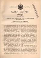 Original Patentschrift - Ch. Lane In Bermondsey , England , 1902 , Abzug Für Gewehr , Pistol !!! - Documents