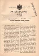 Original Patentschrift - R. Nath Saha In Bengal , Brit. Indien , 1900 , Füllfederhalter , Füller Mit Tintenausstoß !!! - Schreibgerät