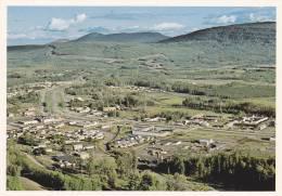 Aerial View, Chetwynd, British Columbia, Canada, 1970-1980s - Colombie Britannique