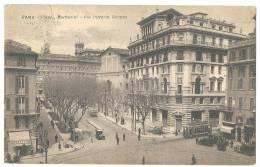ROMA Piazza Barberini Via Vittorio Veneto Con Tram 1929 - Unclassified