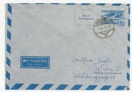 Luftpostumschlag 1948 Ersttag Innsbruck-Wien 01.11.48 - Airmail