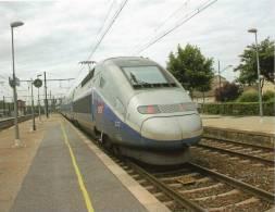 TGV Duplex En Gare D'Ambérieu - Equipment
