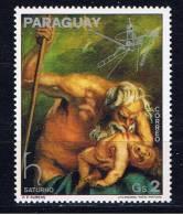 PY+ Paraguay 1976 Mi 2825 Mlh Gemälde - Paraguay
