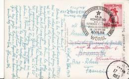 CACHET-TAMPON-AFFRANCHISSEMENT-stempel- 9ème Congrès ESPERANTO -WÖRGL - AUTRICHE - AUSTRIA-ÖSTERREICH - Esperanto