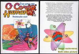 BD Livre Book Livro Era Uma Vez O Corpo Humano N° 55 Il était Une Fois Protecção Civil Protection Civile - Cómics (otros Lenguas)