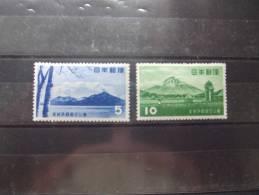 JAPON  SERIE COMPLETA  SCOTT: 581/82  ** MNH 1953  Shikotsu-Toya National Park - Unused Stamps