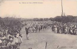 Africa Sudan Course Aux Anes A Nioro - Sudan