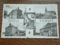 Bonjour De VIERSET Groeten Uit / Anno 1968 ( Zie Foto Voor Details ) !!