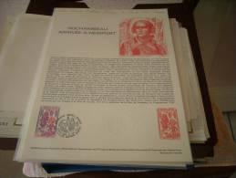 Document Philathélique - Rochambeau Arrivée à Newport - - Documents De La Poste
