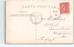 G.B.  Postmark London & Leeds S.C. / Down Day. Mail  Fra5602 - Poststempel