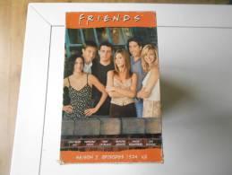 CASSETTE COFFRET FRIENDS SAISON 5 EPISODES 1-6 (1 Cassette) Et 7-12 ( Deuxième Cassette) - Comedy