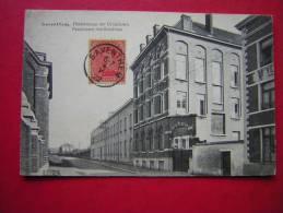 CPA  BELGIQUE SAVENTHEM  PENSIONNAT DES URSULINES  PENSIONNAAT DER URSULIENEN   VOYAGEE 1922 TIMBRE - België