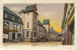 CPSM MERZIG (Allemagne-Sarre) - Rathaus (Früheres Kurfürstl. Jagdschloss) - Autres