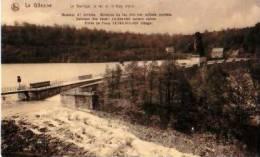 La Gileppe          Le Barrage, Le Lac Et Le Trop Plein    . - Gileppe (Barrage)