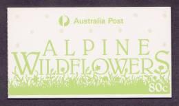 80c ALPINE WILDFLOWERS 1986 - MINT BOOKLET - Markenheftchen