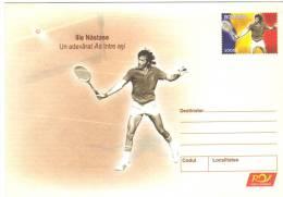 Romania , Stationery, Tennis, Ilie Nastase - Schaken