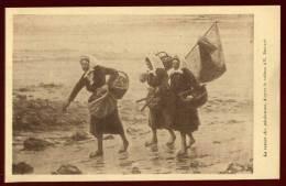 Cpa Le Retour Des Pêcheuses , Tableau D´ Etienne Bouillé      LEM10 - Pêche