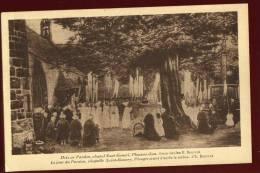 Cpa Du 22  Plougrescant Chapelle De Saint Gonery , Le Jour Du Pardon  , Tableau D´ Etienne Bouillé      LEM10 - Plougrescant