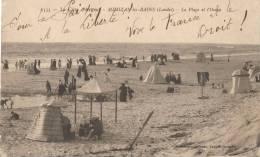 (40)-Mimizan-les-Bains (cote D´argent) -la  Plage  Et L´océan - Mimizan