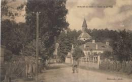 (40)-Mimizan-les-Bains .  Route De  La  Plage - Mimizan