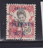 CANTON N° 78 20C S 50C ROSE CAMBODGIENNE OBL