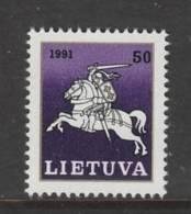 TIMBRE NEUF DE LITUANIE - SERIE COURANTE 1991 : GRAND DUC VITAUTAS N° Y&T 423 - Lithuania