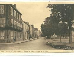 VESOUL N 36368  CHAMP DE FOIRE PLACE DE LA FETE  PERSONNAGES - Vesoul