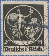 Bavaria, Germany, Reich 20 M. 1920, Sc #275, Used (2) - Bavaria