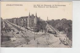 1000 BERLIN - CHARLOTTENBURG, Am Knie, Bismarck- Und Berlinerstr., Strassenbahn - Tram - Charlottenburg