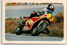 Race Motorcycle Bike English UK Champion Barry Sheene On Suzuki 500 World Speed Tra136 - Ohne Zuordnung