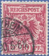 Germany, Reich 10 P. 1889, Sc #48, Used (4) - Germany