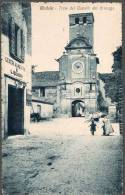 1919 SPL MEDOLE TORRE CASTELLO GONZAGA FP V SEE 3 SCAN ANIMATA INGRANDIMENTO ANNULLO - Mantova
