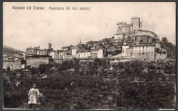1920 SPL SORIANO NEL CIMINO PANORAMA FP V SEE 3 SCAN ANIMATA INGRANDIMENTO ANNULLO - Viterbo