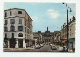 94 - SAINT-MAUR-DES-FOSSÉS - AVENUE DE LA MAIRIE - CREDIT LYONNAIS CPSM DENTELÉE - 1967 - Saint Maur Des Fosses