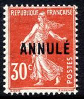FRANCE COURS D´INSTRUCTION 160-CI 1** TYPE SEMEUSE - Instructional Courses