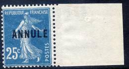 FRANCE COURS D´INSTRUCTION 140a-CI 2** TYPE SEMEUSE - Instructional Courses