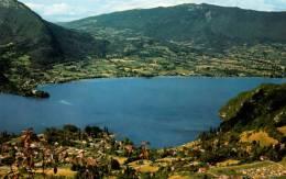 ANNECY   Le Lac Vue Prise De Talloires Et Duingt Très Bon état - Annecy