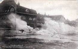 STRÖMSTAD (Schweden), Strandpromenaden I Storm, Schöne Karte, Gelaufen 1923, Gute Erhaltung - Schweden
